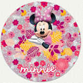 Disney Minnie Mouse Floral Custom Wall Decal