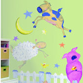 Fun on the Farm Mega Pack Wall Stickers