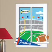 Game Day Football Window Wall Sticker SALE