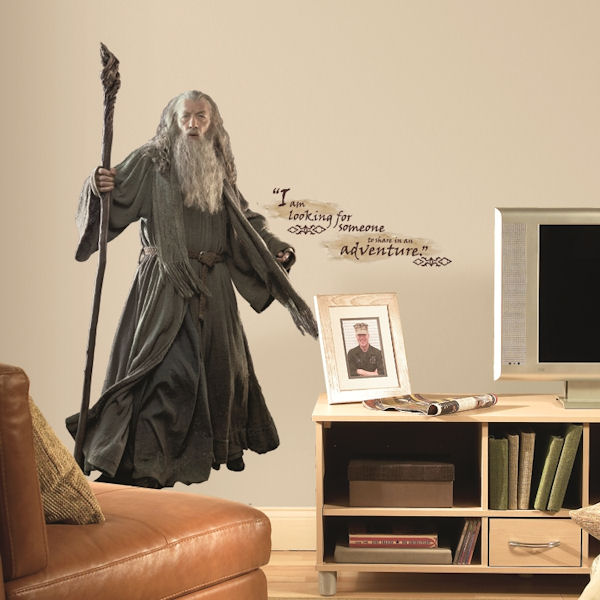 The Hobbit Gandalf Giant Wall Decal
