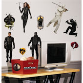G.I. JOE Wall Stickers
