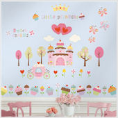 Happi Cupcake Land Peel and Stick Wall Decals