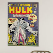 Incredible Hulk Iss 1 Comic Book Cover Decal SALE