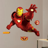 Iron Man Giant Wall Sticker
