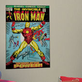 Iron Man Comic Book Cover Sticker
