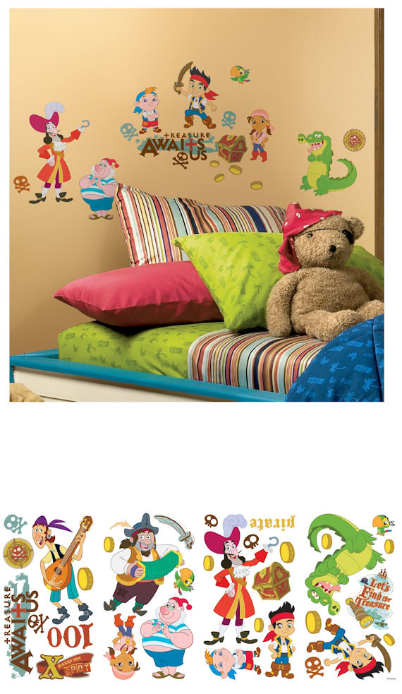 Jake and The Neverland Pirates Wall Stickers - Wall Sticker Outlet
