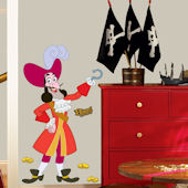Jake and the Never Land Pirates Captain Hook Decal