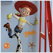 Toy Story Jessie Giant Wall Sticker