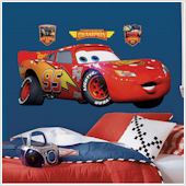 Disney Lightning McQueen Giant Wall Sticker