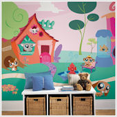Littlest Pet Shop XL Wall Mural 9 x 15 SALE
