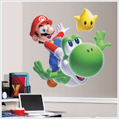 Super Mario Galaxy 2 Giant Wall Sticker