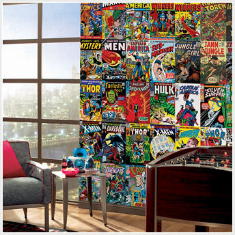Superhero Wall Stickers, Decals, and Super Hero Wall Murals