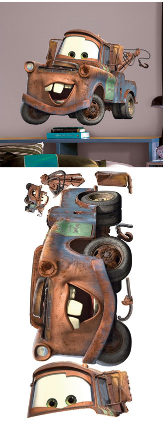 Disney Mater Giant Wall Sticker - Wall Sticker Outlet