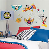 Disney Mickey Mouse Clubhouse Pilot Wall Stickers
