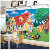 Mickey and Friends XL Wall Mural 10.5 x 6 Feet