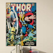 Mighty Thor Comic Book Cover Sticker