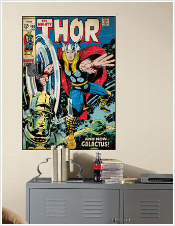 Mighty Thor Comic Book Cover Sticker - Wall Sticker Outlet