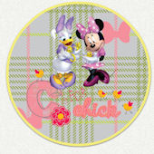 Disney Minnie C is for Chick Custom Wall Decal