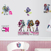 Monster High Peel and Stick Decals