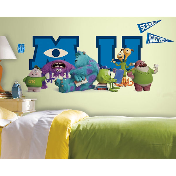 Monsters University Giant Character Collage Decals - Wall Sticker Outlet