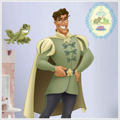 Naveen Princess and the Frog Giant Wall Sticker