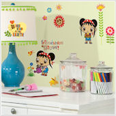 Ni Hao Kai-Lan Wall Decals