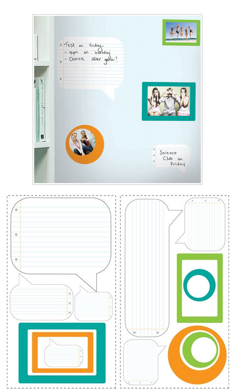 Notepad Dry Erase Wall Decals and Wall Frames SALE - Wall Sticker Outlet
