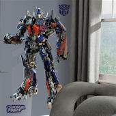 Dark of the Moon Optimus Prime Giant Wall Sticker