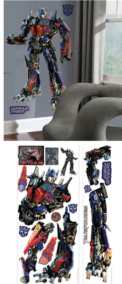 Dark of the Moon Optimus Prime Giant Wall Sticker - Wall Sticker Outlet