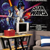 Star Wars Original XL 6 x 10 Chair Rail Mural