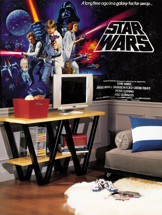 Star Wars Original XL Mural 10.5 x 6 Feet - Wall Sticker Outlet