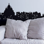 Living in Paris Giant Wall Decal