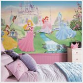Dancing Princess XL Wall Mural 6.5 x 10 Feet