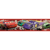 Disney Cars Piston Cup Racing Wall Border