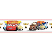 Disney Cars Piston Cup Champions Wall Border