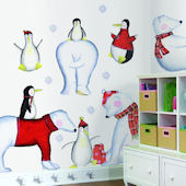 Polar Buddies Mega Pack Wall Stickers SALE