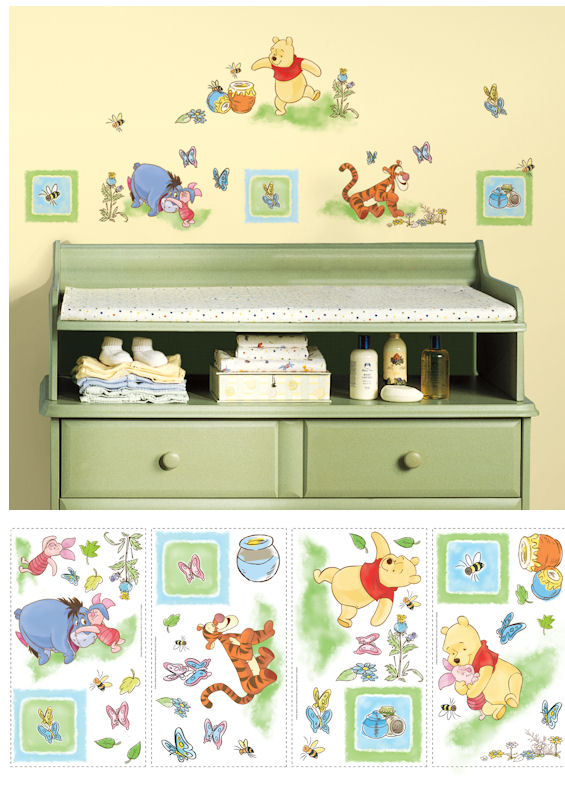 Winnie the Pooh Wall Decals - Wall Sticker Outlet