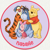 Disney Winnie The Pooh Hug Custom Wall Decal