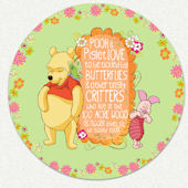 Disney Pooh & Piglet Custom Wall Decal
