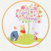 Disney Pooh Trees Custom Wall Decal