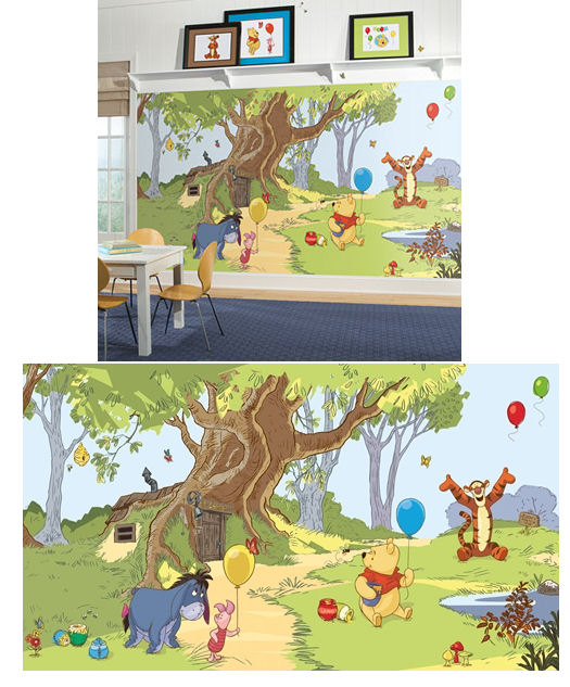 Pooh and Friends XL Wall Mural 6.5 x 10 Feet - Wall Sticker Outlet