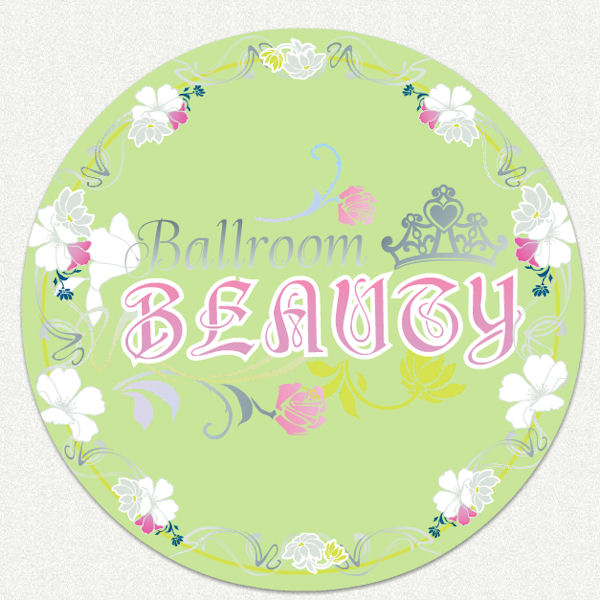 Disney princess ballroom beauty room wall decal for Disney princess ballroom wall mural