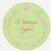 Disney Princess Sophia Custom Room Wall Decal