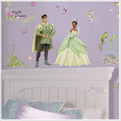 The Princess and The Frog Wall Stickers