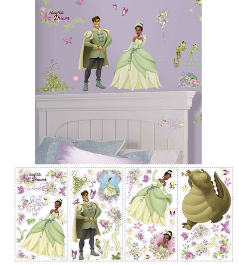 The Princess and The Frog Wall Stickers - Wall Sticker Outlet
