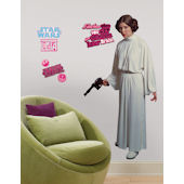Star Wars Princess Leia Giant Wall Sticker