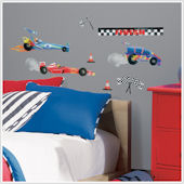 Racing Cars Wall Decals
