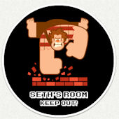 Wreck it Ralph Room Custom Wall Decal