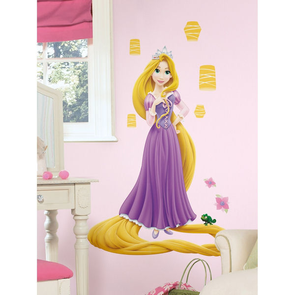 Gorgeous Tangled Themed Guest Rooms At Tokyo Disneyland: Princess Rapunzel Glow In Dark Wall Decal SALE
