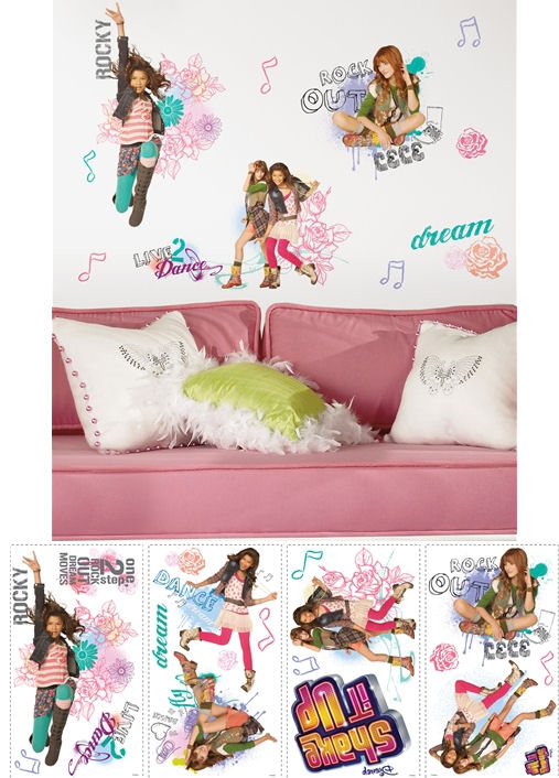 Shake It Up Wall Stickers - Wall Sticker Outlet